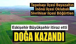 Büyükerşen: Eskişehir'imizin doğasını koruyabildiğimiz için çok mutluyuz
