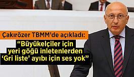 Çakırözer: Türkiye artık dünyada sözünü dinletemiyor