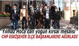 CHP Eskişehir İlçe Başkanlarından  Başkan Büyükerşen'e ziyaret