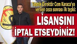 Eskişehirspor Başkanı Şimşek PFDK'ya söyleyecek söz bulamadı