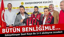 Kaya: Ben bütün benliğimle Eskişehirspor'un ait olduğu yere kadar bu mücadeleyi vereceğim