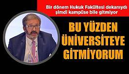 Prof. Dr. Ufuk Aydın: Yaklaşık 60 üniversite gezmişimdir. Hiçbirinde böyle bir şey görmedim